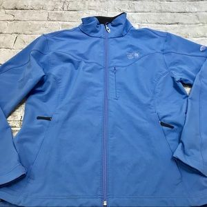 Mountain Hard WearJacket Full Zip Sz XL Blue